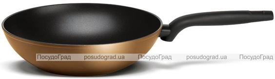 Сковорода-вок TVS Tenace Induction Ø28см з антипригарним покриттям DIAMANTEK