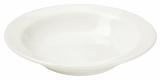 Набор 6 суповых тарелок IPEC Bari Ø21см каменная керамика, айвори