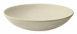 Набор 6 суповых тарелок IPEC Monaco Ø19см каменная керамика, бежевые