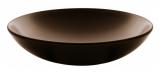 Набор 6 суповых тарелок IPEC Monaco Ø19см каменная керамика, коричневые