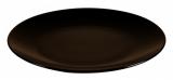 Набор 6 десертных тарелок IPEC Monaco Ø20см каменная керамика, коричневые