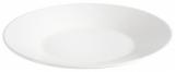 Набір 6 обідніх тарілок IPEC Cairo Ø27см кам'яна кераміка, білі