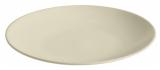 Набор 6 обеденных тарелок IPEC Monaco Ø24см каменная керамика, бежевые