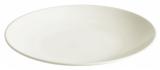 Набор 6 обеденных тарелок IPEC Monaco Ø24см каменная керамика, айвори