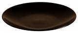 Набор 6 обеденных тарелок IPEC Monaco Ø24см каменная керамика, коричневые