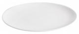Набір 6 обідніх тарілок IPEC Monaco Ø26см кам'яна кераміка, білі