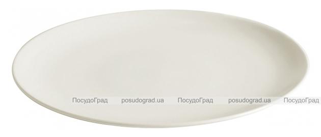 Набор 6 обеденных тарелок IPEC Monaco Ø26см каменная керамика, айвори