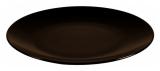 Набор 6 обеденных тарелок IPEC Monaco Ø26см каменная керамика, коричневые