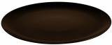 Блюдо круглое IPEC Monaco Ø31см каменная керамика, коричневое