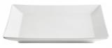Набір 6 обідніх тарілок IPEC Tokyo 24х24см кам'яна кераміка, білі