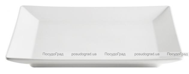 Набор 6 обеденных тарелок IPEC Tokyo 26х26см каменная керамика, белые