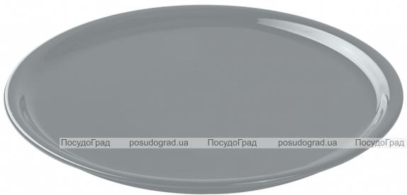 Блюдо для пиццы IPEC Bari Ø30см каменная керамика, серое