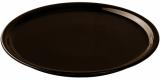 Блюдо для піци IPEC Bari Ø30см кам'яна кераміка, коричневе