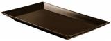 Блюдо IPEC Tokyo 25х15см каменная керамика, коричневый