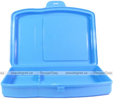 Ланч-бокс Qlux Twin MIX 18х15х4см, пластиковый