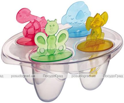 Форма для морозива на паличці Qlux, 4 порції (пластик)