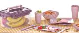 Набір для пікніка Qlux на 4 персони 25 предметів в контейнері