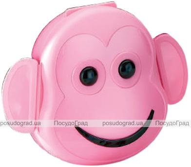 Ланч-бокс Qlux Monkey 12х13х6см, пластиковий