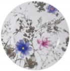 Набор тарелок VaBene Diva Blue фарфор Ø19см закусочная 6 штук