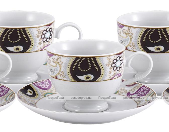 Чайный сервиз VaBene Diva Восток 220мл 12 предметов