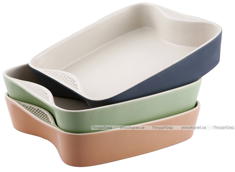 Форма для запекания VaBene Ceramics Hill 27х27х6см