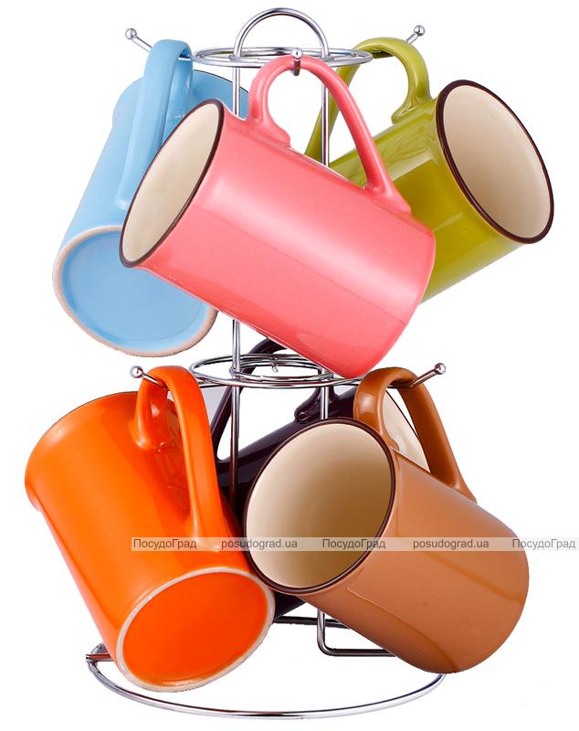 Набор кружек VaBene Colore 280мл 7 предметов