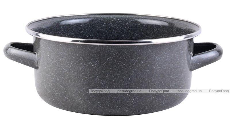 Кастрюля эмалированная Vitrinor Parma 2.5л со стальной крышкой