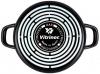 Сотейник Vitrinor Black Ø20см эмалированный с антипригарным покрытием
