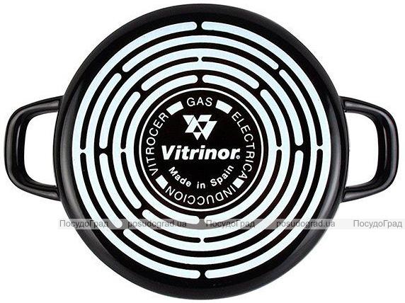 Сотейник Vitrinor Black Ø24см эмалированный с антипригарным покрытием