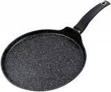 Сковорода блинная Vitrinor Mineral Black Ø28см с гранитным антипригарным покрытием