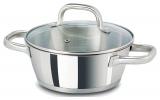 Каструля Vitrinor Bon Chef 2л з нержавіючої сталі, низька