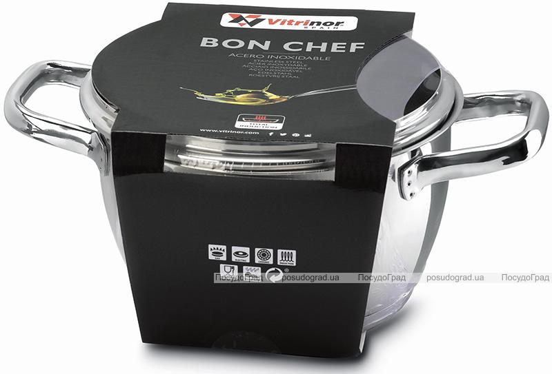 Кастрюля Vitrinor Bon Chef 3л из нержавеющей стали