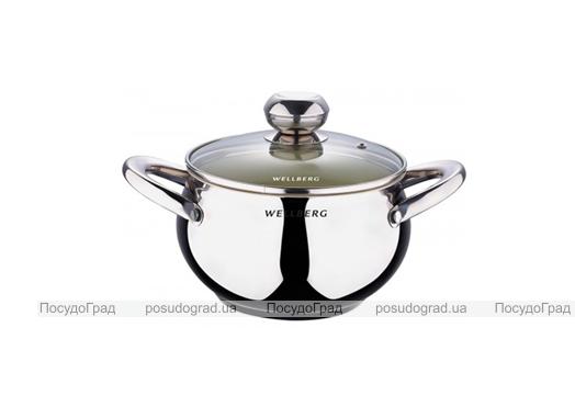 Кастрюля Wellberg Apple Pot 2,1л с керамическим антипригарным покрытием