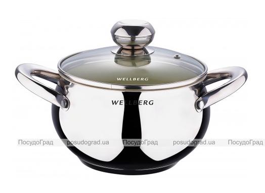 Кастрюля Wellberg Apple Pot 4,1л с керамическим антипригарным покрытием