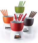 Набір для шоколадного фондю Wellberg 10201 Hot Chocolate 6 предметів