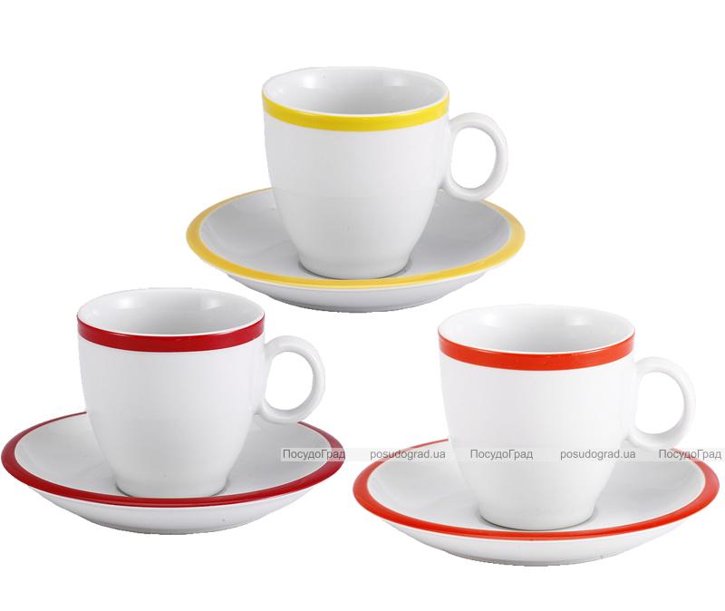 Чайная пара Infinito 220мл чашка и блюдце