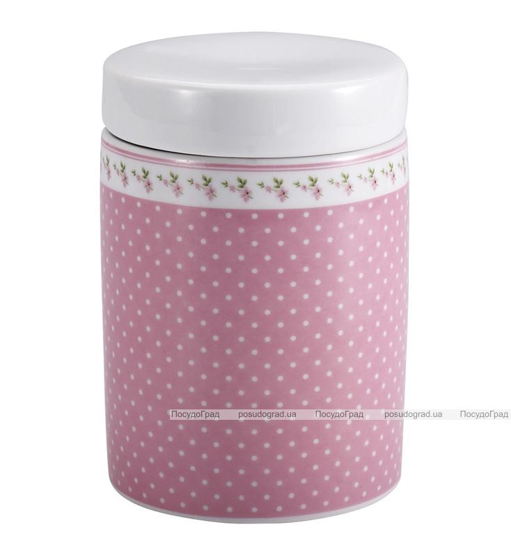 Банка Pink Grace для сыпучих продуктов Ø9,5х11см