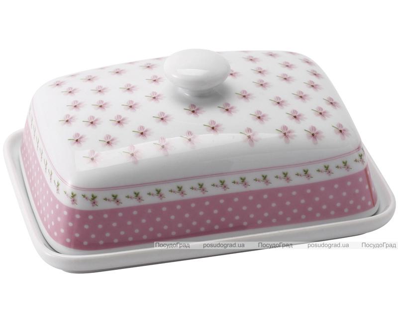 Масленка Pink Grace 15х11см с крышкой