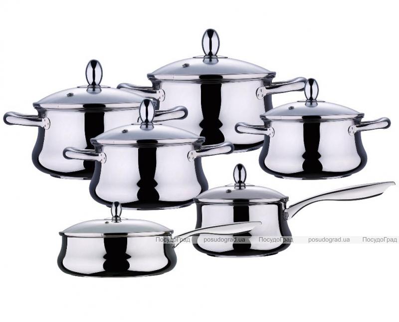 Набор кухонной посуды Wellberg Bella 12 предметов