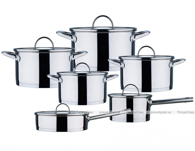 Набор кухонной посуды Wellberg Circle 12 предметов
