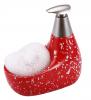 Дозатор для жидкого мыла с подставкой для губки 12603