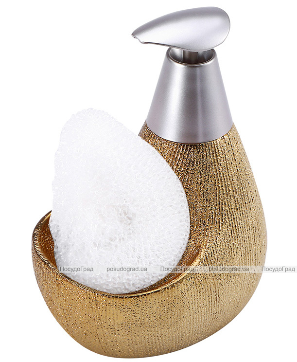 Дозатор для жидкого мыла с подставкой для губки 12611