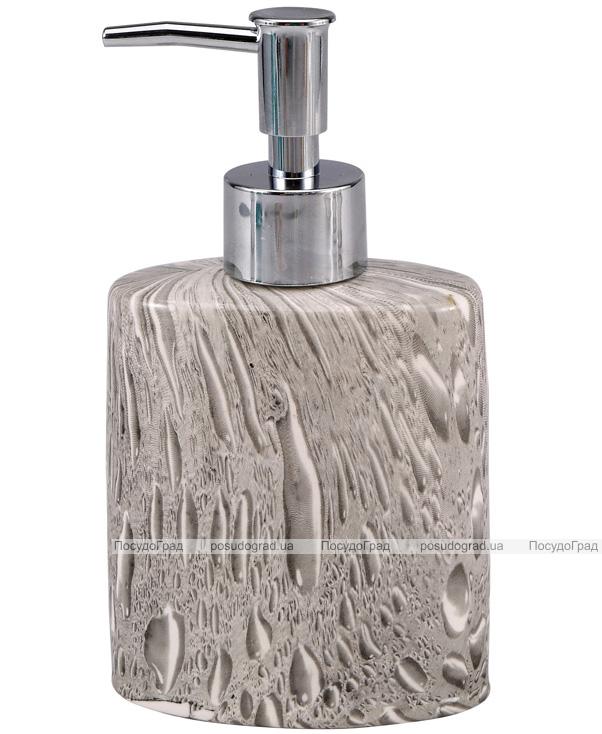 Дозатор для жидкого мыла Wellberg Stones 9.4x5.2x11.7см