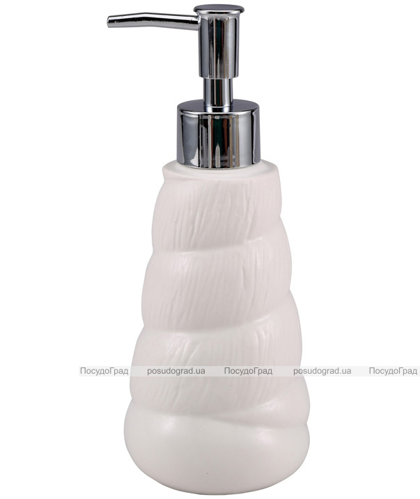 Дозатор для жидкого мыла Wellberg Gel 7.8x7.8x14.5см