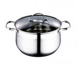 Каструля Wellberg Style Pot 2л зі скляною кришкою