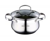 Каструля Wellberg Style Pot 2,8 л зі скляною кришкою