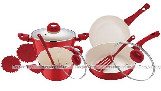 Набор кухонной посуды Wellberg Foodie 11 предметов