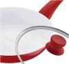 Сковорода Wellberg Shimmer Ø28см со стеклянной крышкой
