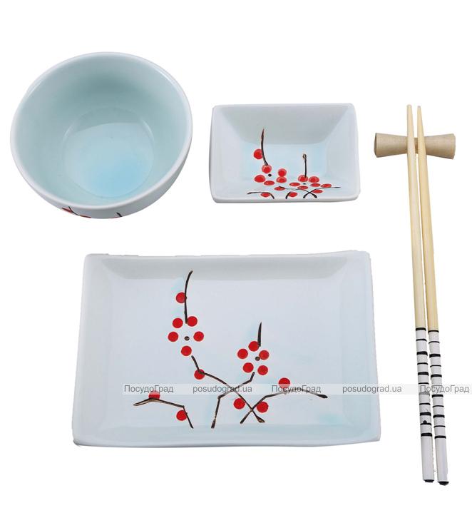 Набор для суши Wellberg Sakura White 5 предметов