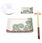 Набір для суші Wellberg Sakura Broun 5 предметів